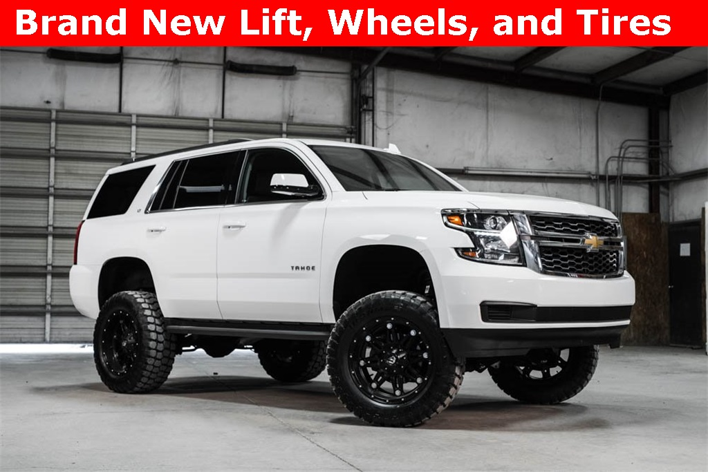 Lifted 2016 Chevrolet Tahoe 4x4 LT