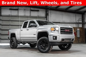 Lifted 2014 GMC Sierra 1500 4x4 Double Cab SLT All Terrain  $37,988