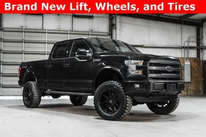 Lifted 2015 Ford F-150 4x4 SuperCrew Lariat Sport  $47,988