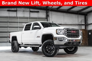 Lifted 2016 GMC Sierra 1500 4x4 Crew Cab SLE  $43,488