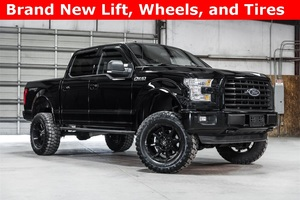Lifted 2016 Ford F-150 4x4 SuperCrew XLT Sport  $40,988