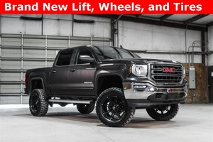 Lifted 2016 GMC Sierra 1500 4x4 Crew Cab SLE  $42,988
