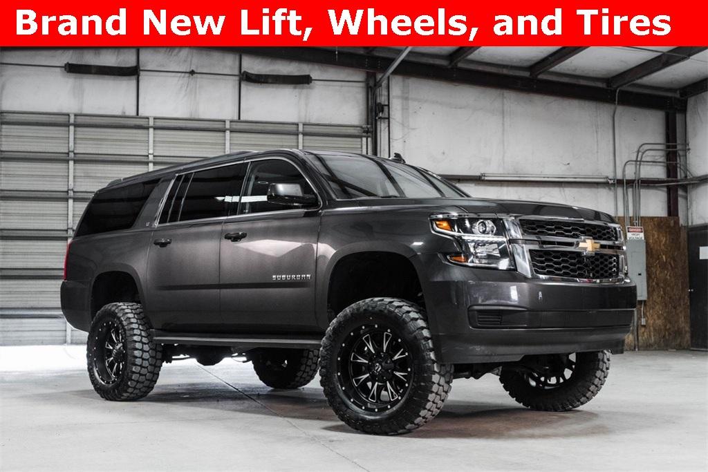 Lifted 2016 Chevrolet Suburban 4x4 LT
