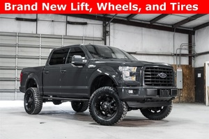 Lifted 2016 Ford F-150 4x4 SuperCrew XLT Sport  $38,988