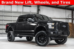 Lifted 2015 Ford F-150 4x4 SuperCrew XLT FX4  $38,488