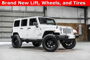 Lifted 2016 Jeep Wrangler 4WD Unlimited Sahara  $36,210
