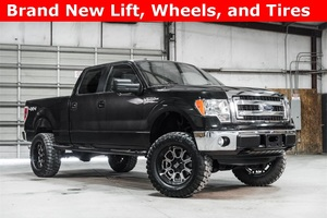 Lifted 2014 Ford F-150 4x4 SuperCrew XLT 7700  $33,172