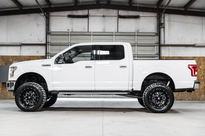 Lifted 2016 Ford F-150 4x4 SuperCrew XLT  $40,000