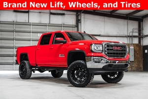 Lifted 2016 GMC Sierra 1500 4x4 Crew Cab SLE Z71 Kodiak  $45,000