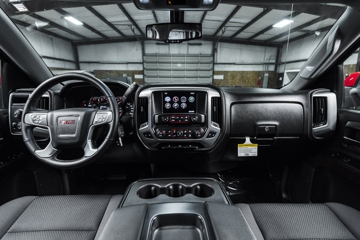 Lifted 2016 GMC Sierra 1500 4x4 Crew Cab SLE Z71 Kodiak  $43,991
