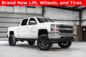 Lifted 2016 Chevrolet Silverado 1500 4x4 Crew Cab LT  $40,488
