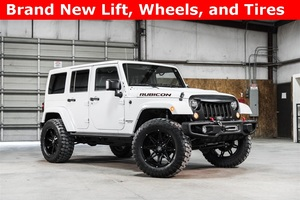 Lifted 2015 Jeep Wrangler 4WD Unlimited Rubicon  $41,560