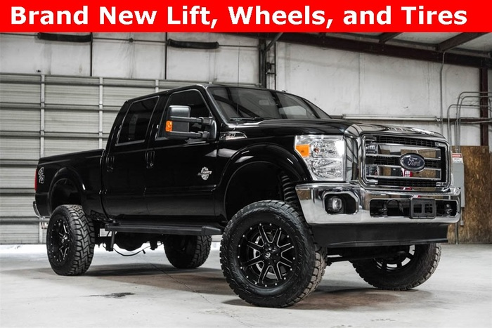 Lifted 2016 Ford F-250SD 4x4 Crew Cab Lariat  $56,845