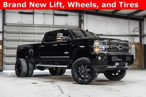Lifted 2016 Chevrolet Silverado 3500HD 4x4 Crew Cab High Country  $65,000