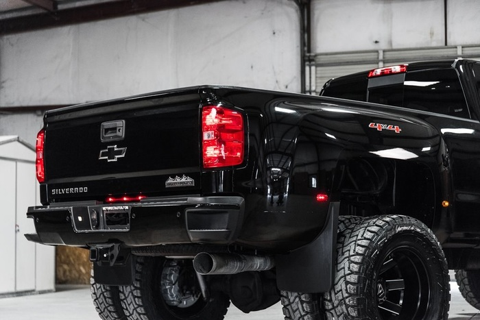 Lifted 2016 Chevrolet Silverado 3500HD 4x4 Crew Cab High Country  $63,991