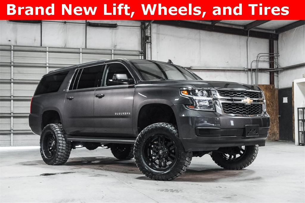 Lifted 2016 Chevrolet Suburban 4x4 LT