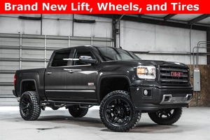 Lifted 2014 GMC Sierra 1500 4x4 Crew Cab SLT All Terrain  $40,988