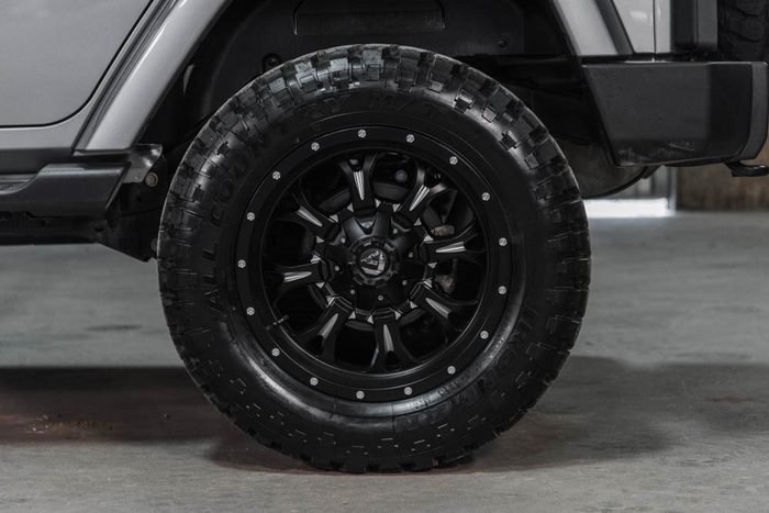 Lifted 2016 Jeep Wrangler 4WD Unlimited Sahara  $36,851