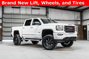 Lifted 2016 GMC Sierra 1500 4x4 Crew Cab SLE All Terrain  $43,988