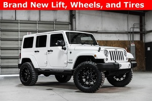 Lifted 2016 Jeep Wrangler 4WD Unlimited Sahara  $37,202
