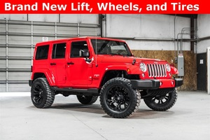 Lifted 2016 Jeep Wrangler 4WD Unlimited Sahara  $40,488