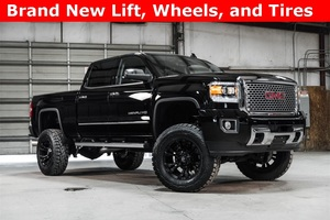 Lifted 2016 GMC Sierra 2500HD 4x4 Crew Cab Denali  $68,488