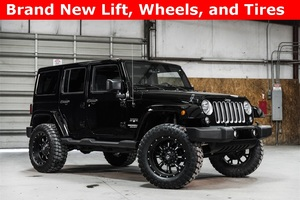 Lifted 2016 Jeep Wrangler 4WD Unlimited Sahara  $36,938
