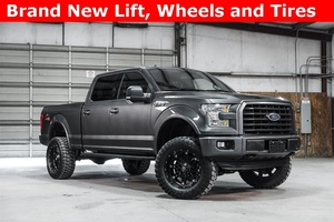 Lifted 2015 Ford F-150 4x4 SuperCrew XLT Outlaw  $41,988