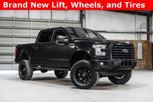 Lifted 2015 Ford F-150 4x4 SuperCrew XLT  $38,988