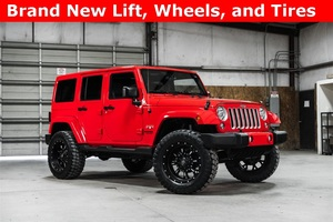Lifted 2016 Jeep Wrangler 4WD Unlimited Sahara  $37,906