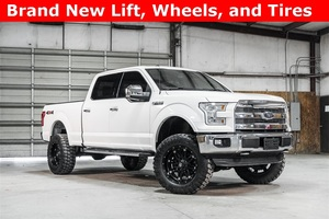 Lifted 2016 Ford F-150 4x4 SuperCrew Lariat  $50,000