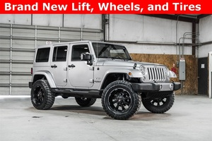 Lifted 2016 Jeep Wrangler 4WD Unlimited Sahara  $35,933