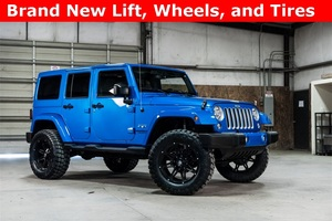 Lifted 2016 Jeep Wrangler 4WD Unlimited Sahara  $36,322