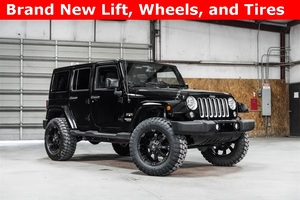 Lifted 2016 Jeep Wrangler 4WD Unlimited Sahara  $36,615