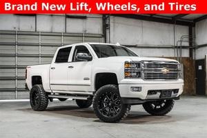 Lifted 2015 Chevrolet Silverado 1500 4x4 Crew Cab High Country  $47,988