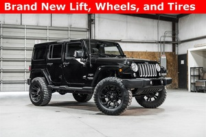 Lifted 2016 Jeep Wrangler 4WD Unlimited Sahara  $37,342
