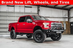 Lifted 2015 Ford F-150 4x4 SuperCrew Lariat FX4  $45,988