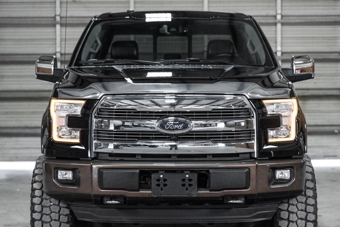 Lifted 2016 Ford F-150 4x4 SuperCrew Lariat FX4  $50,441