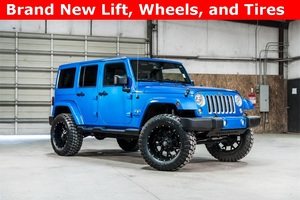 Lifted 2016 Jeep Wrangler 4WD Unlimited Sahara  $35,737