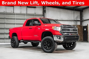 Lifted 2016 Toyota Tundra 4x4 Double Cab SR5 TRD  $42,488