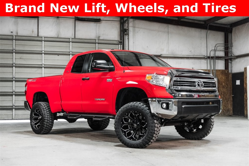 Lifted 2016 Toyota Tundra 4x4 Double Cab SR5 TRD