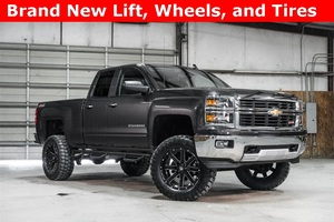 Lifted 2015 Chevrolet Silverado 1500 4x4 Double Cab LT Z71  $36,500