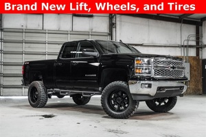 Lifted 2015 Chevrolet Silverado 1500 4x4 Double Cab LT  $37,068
