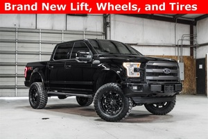Lifted 2016 Ford F-150 4x4 SuperCrew Lariat FX4  $47,988