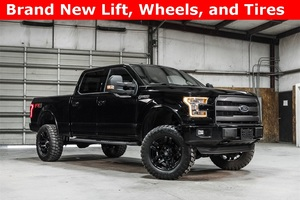 Lifted 2016 Ford F-150 4x4 SuperCrew Lariat FX4  $49,488