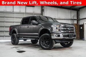 Lifted 2016 Ford F-150 4x4 SuperCrew Lariat  $45,768