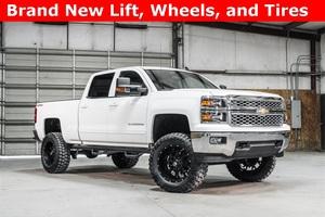 Lifted 2015 Chevrolet Silverado 1500 4x4 Crew Cab LT  $38,988