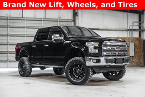 Lifted 2016 Ford F-150 4x4 SuperCrew Lariat FX4  $50,000