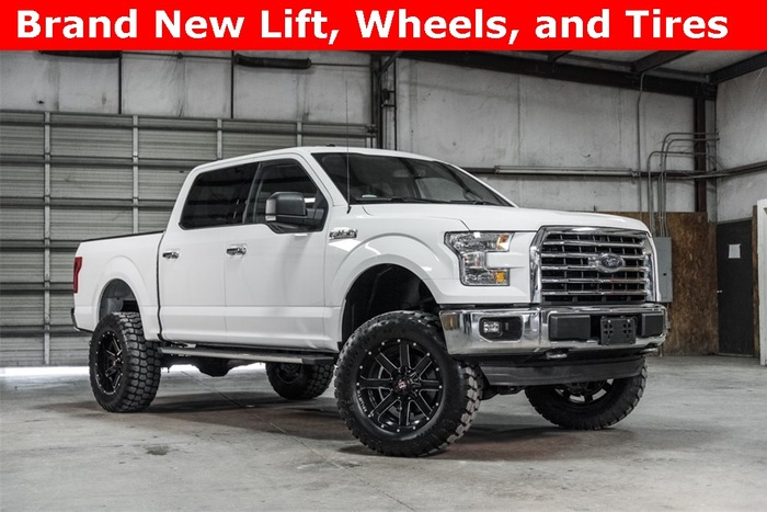 Lifted 2016 Ford F-150 4x4 SuperCrew XLT  $40,988