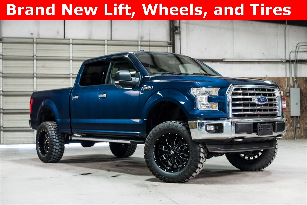 Lifted 2016 Ford F-150 4x4 SuperCrew XLT